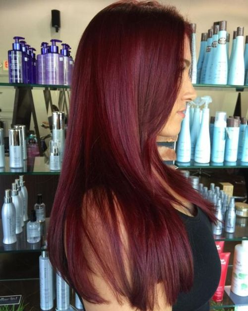 9 Bomb Burgundy Hair Ideas Because Deep Red is the New Black