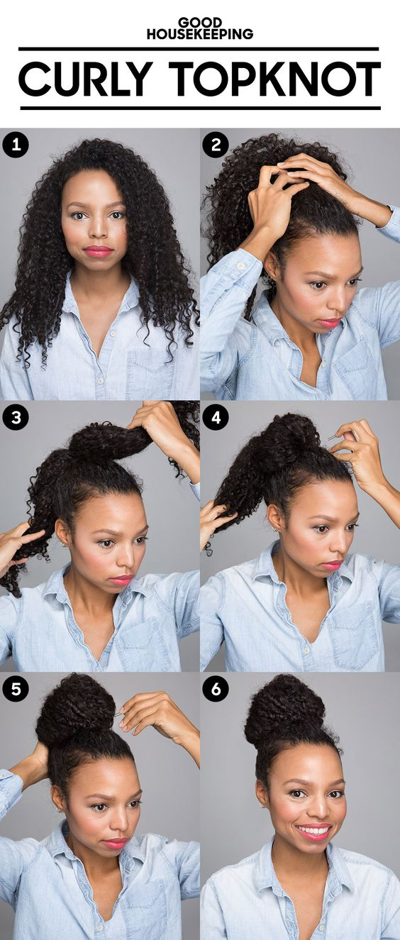 55 Hairstyles To Tame Frizzy or Curly Hair, Wustoo