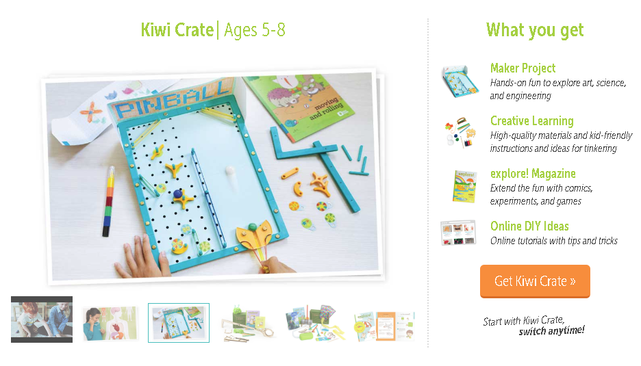 kiwi crate from KiwiCo | Stay at Home Mum