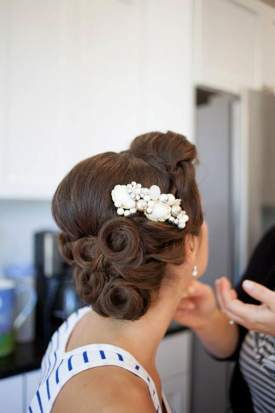 6 Gorgeous Old Hollywood Wedding Hairstyle Tutorials