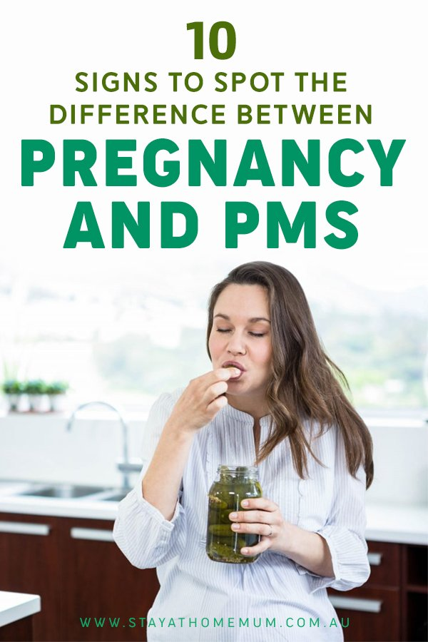 10 Signs to Spot the Difference Between Pregnancy and PMS