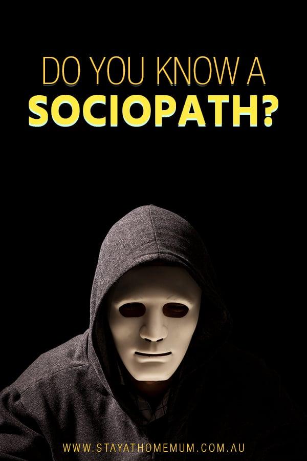 Do You Know A Sociopath