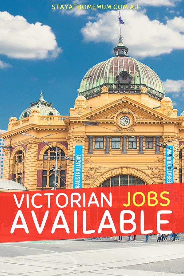 Victorian jobs | Stay at Home Mum.com.au