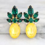 pineapple earrings | Stay at Home Mum