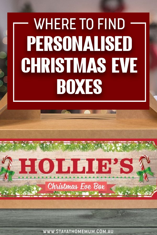 Where to Find Personalised Christmas Eve Boxes