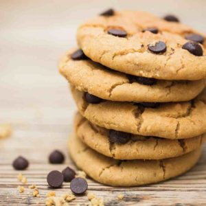 Vegan Chocolate Chip Chickpea Cookies