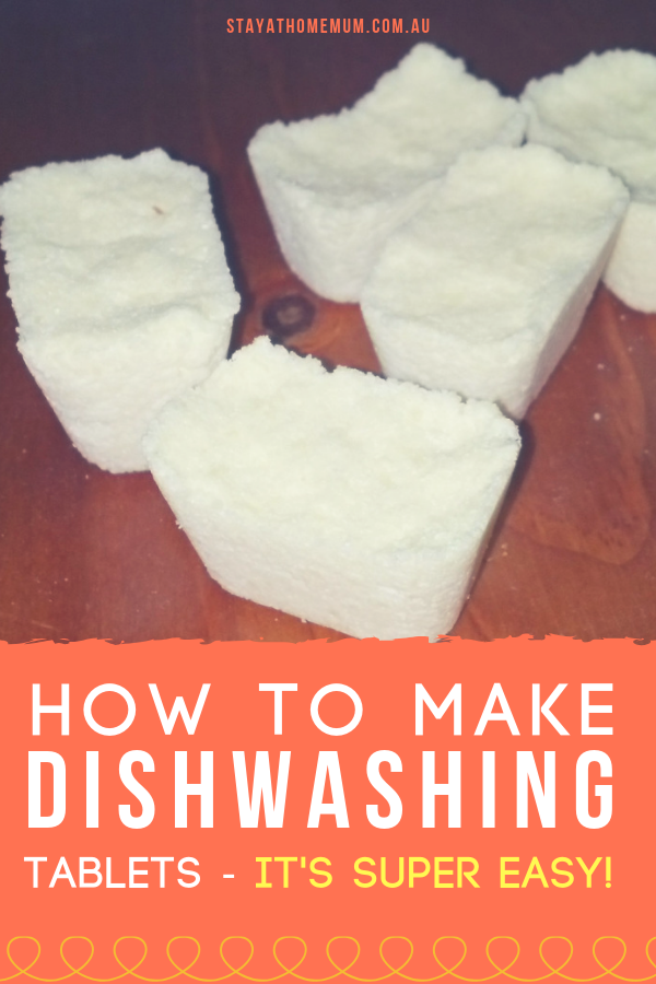 How to Make Dishwashing Tablets at Home | Stay at Home Mum