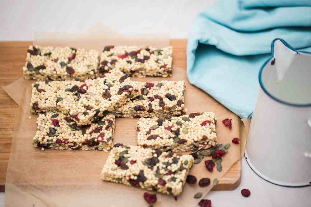 Nut free no bake muesli bars stay at home mum for Stay at home craft jobs