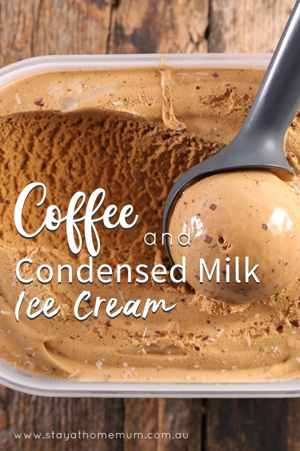 Coffee And Condensed Milk Ice Cream