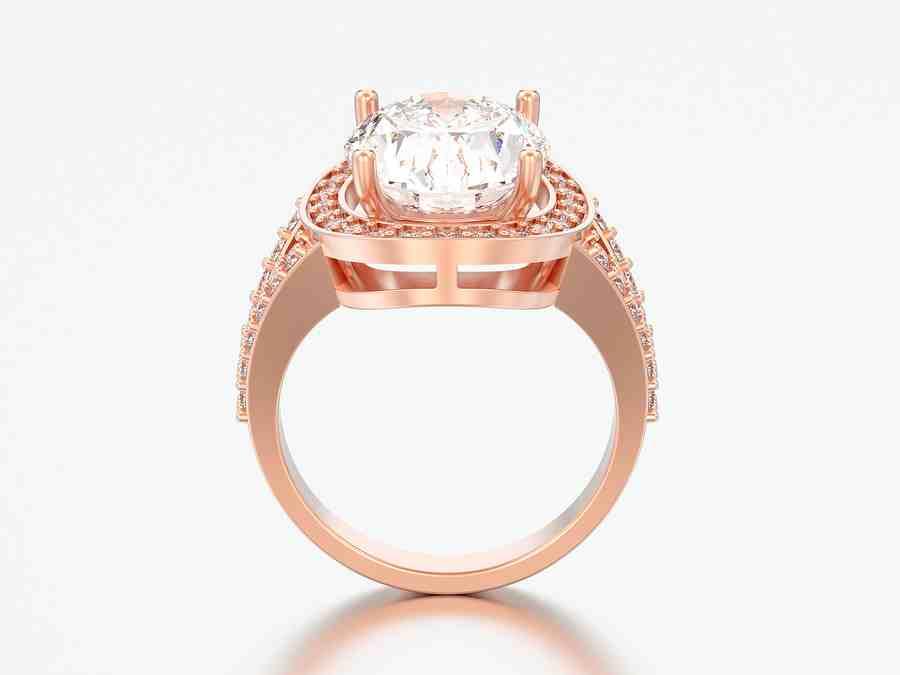 Custom Made Diamond Engagement Ring | Stay at Home Mum