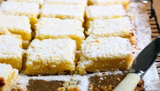 Lemon Lunch Box Slice | Stay at Home Mum