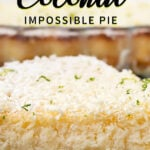 Coconut Impossible Pie | Stay at Home Mum.com.au