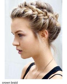 de7a10105309b43f5959b5f9baf44988 crown braids messy braids | Stay at Home Mum.com.au