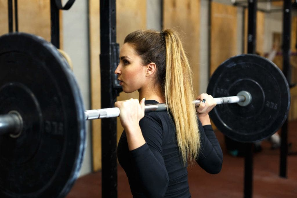 gym hairstyles blonde pony | Stay at Home Mum.com.au