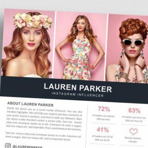 8 Influencer Media Kit Templates to Impress Advertisers