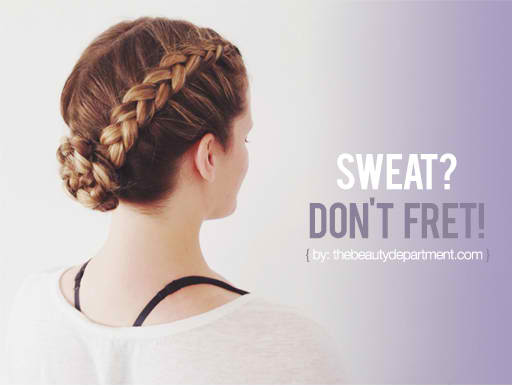 workout hair ideas the beauty dept | Stay at Home Mum.com.au