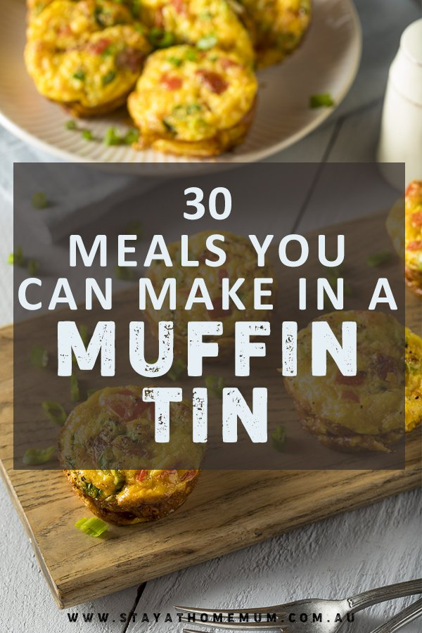 30 Meals You Can Make in a Muffin Tin