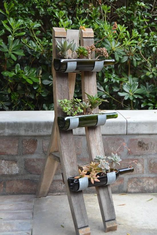 30 Nifty Ways to Repurpose Wine Bottles