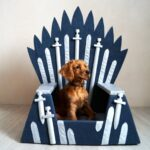 This Etsy Shop Is Selling 'GoT' Iron Throne Dog Beds for Your Beloved Direwolves   Pure Wow