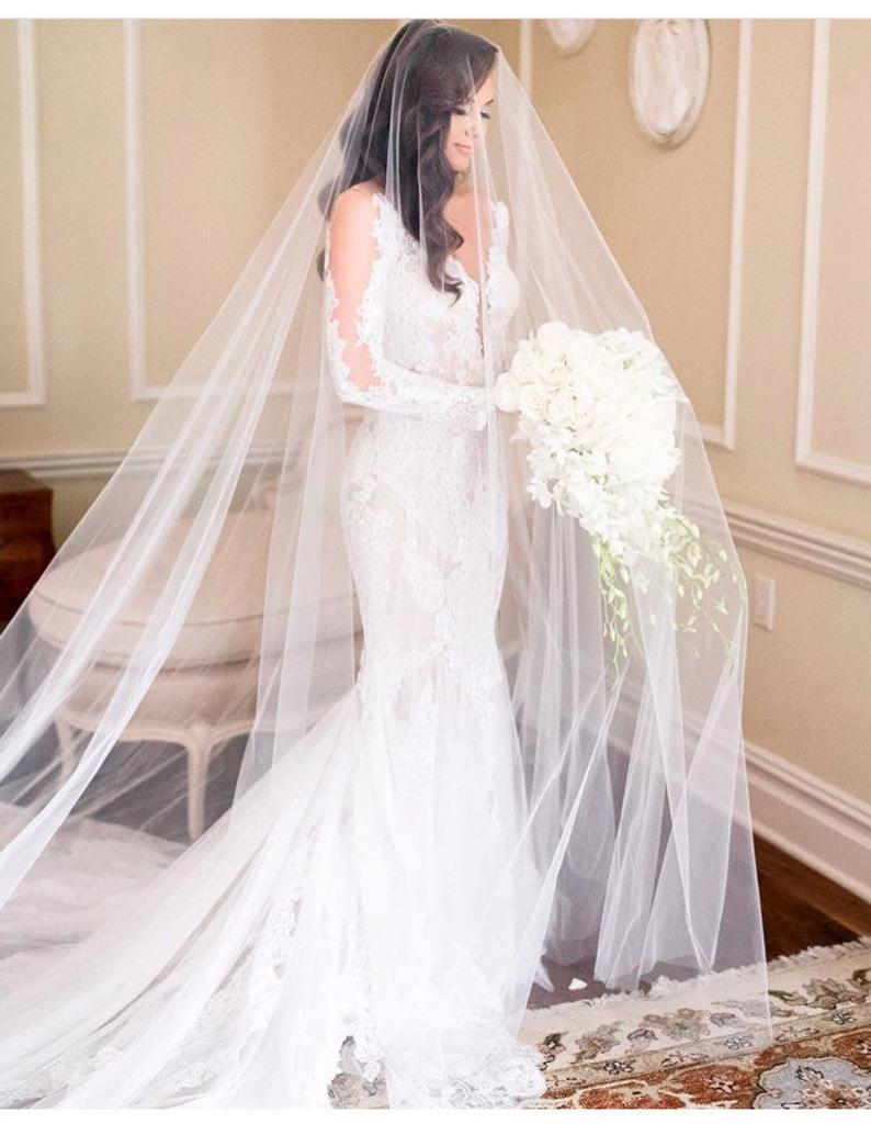 Cathedral Wedding Veil | Stay at Home Mum