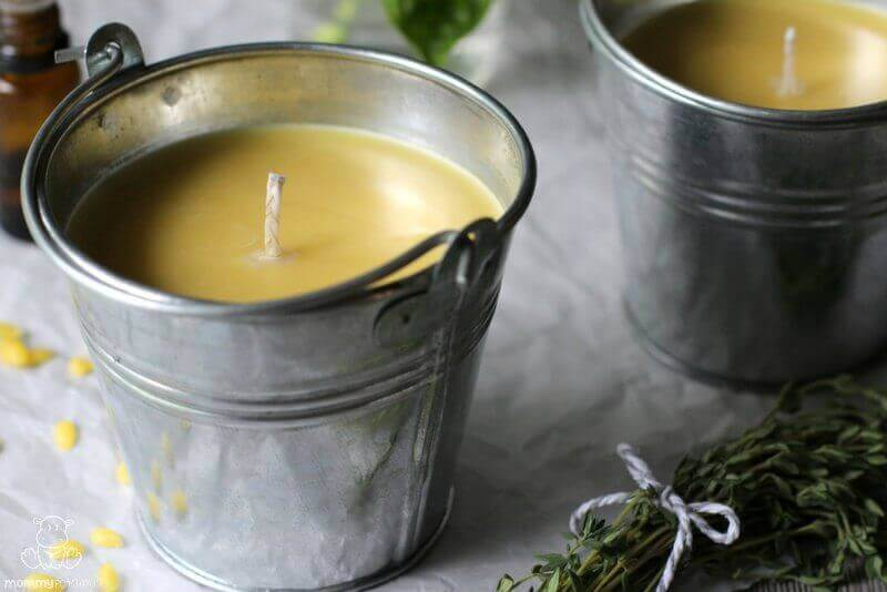 How to Make Homemade Citronella Candles