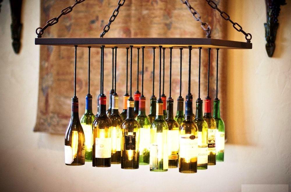 31 Nifty Ways to Repurpose Wine Bottles