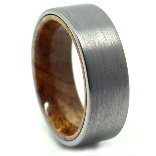 FTR 102 tungsten wood ring | Stay at Home Mum.com.au