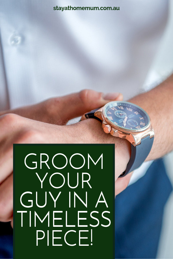 Watches: Groom Your Guy in a Timeless Piece!