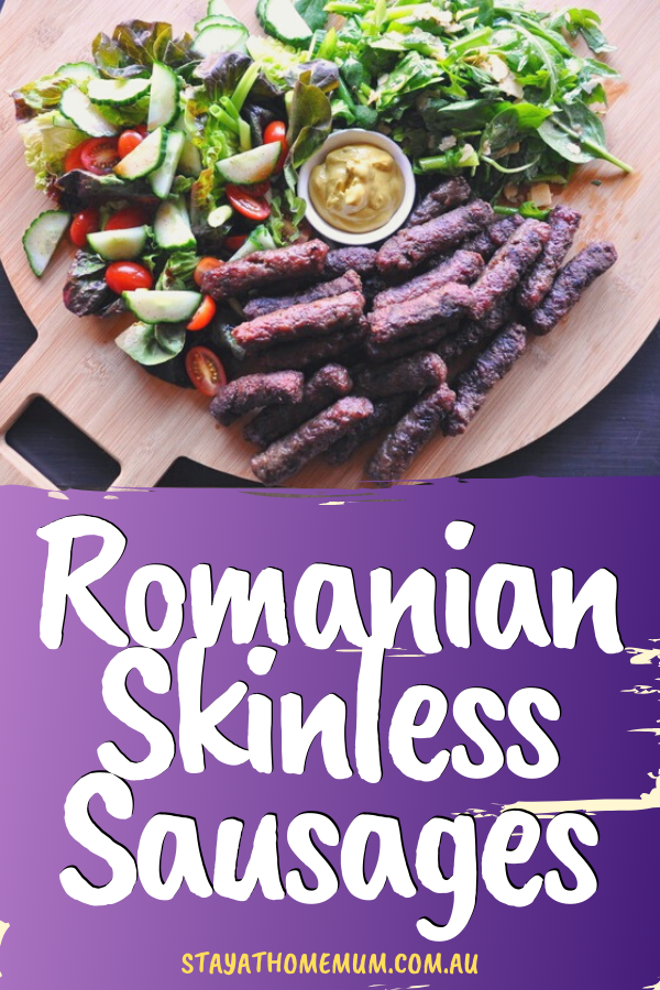 Romanian Skinless Sausages