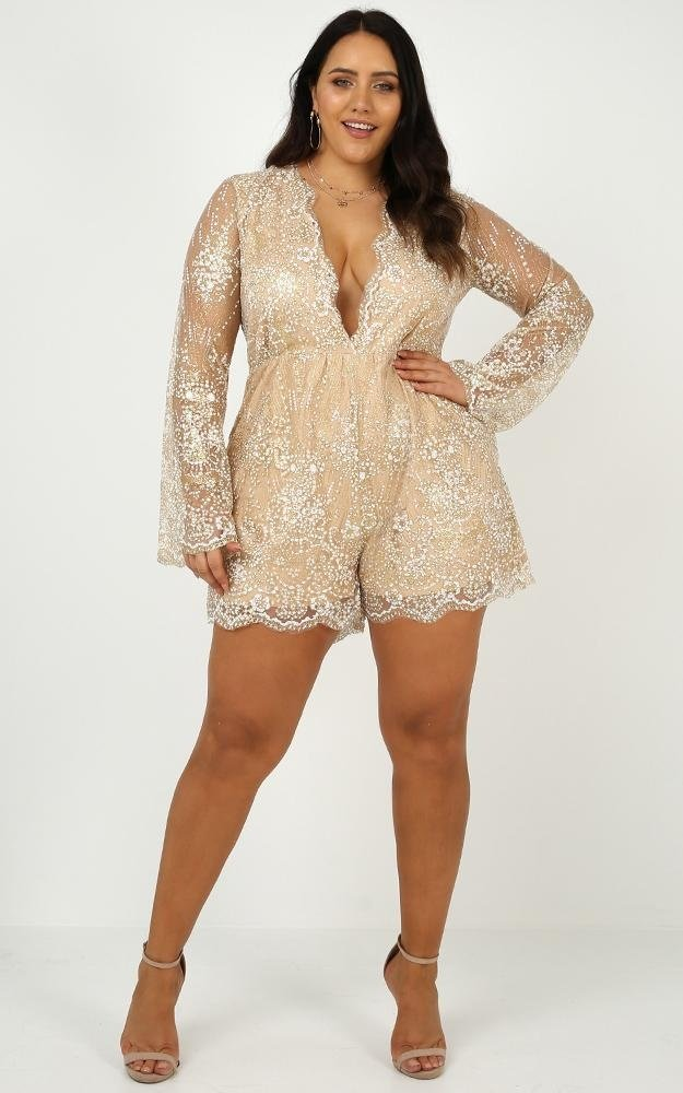 i could use a love song playsuit in rose goldro | Stay at Home Mum.com.au