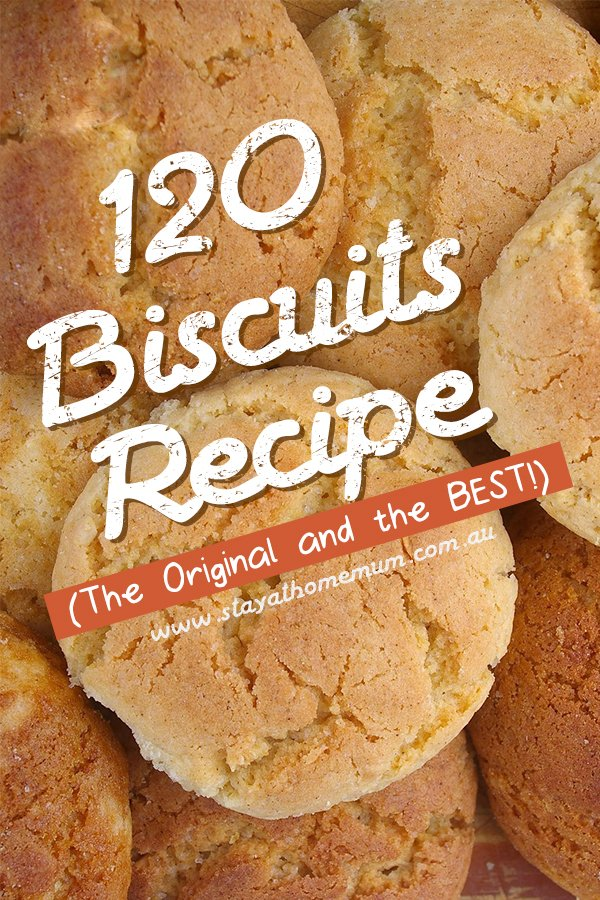 120 Biscuits for Less than $7 | Stay at Home Mum