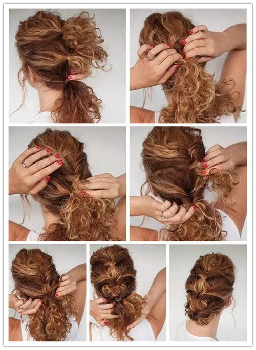 22 Hairstyles To Tame Frizzy Or Curly Hair Stay At Home Mum
