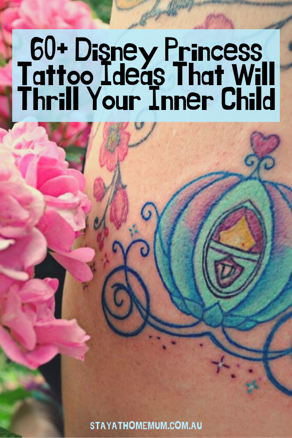 Disney Princess Tattoo Ideas That Will Thrill Your Inner Child | Stay At Home Mum