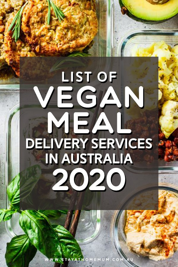 List of Vegan Meal Delivery Services
