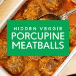 Hidden Veggie Porcupine Meatballs | Stay at Home Mum.com.au