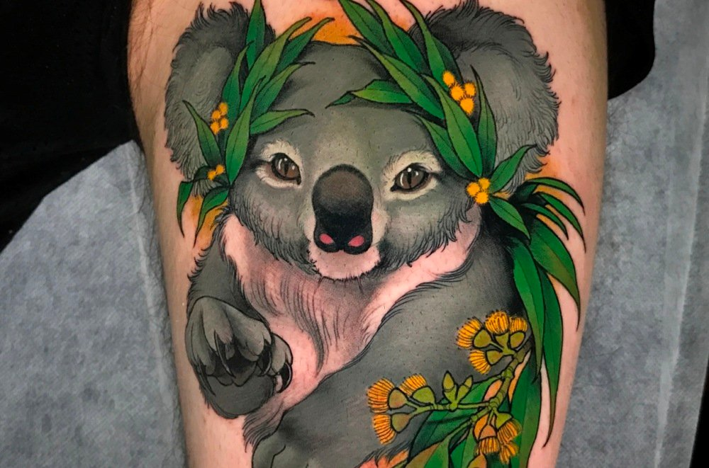 Show Your Love For Australia's Wildlife With These Beautiful Tattoo Designs