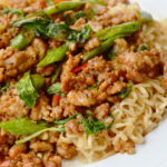 Mince and Noodle Stir Fry | Stay at Home Mum
