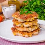 Spicy Corn Fritters   Stay at Home Mum