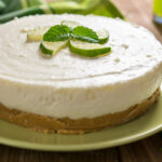 Raw No Bake Lime Cheesecake | Stay at Home Mum