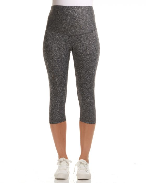 sage overbelly 3 4 active soon maternity legging grey 1 | Stay at Home Mum.com.au