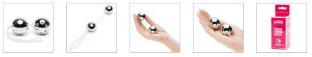 BASICS Silver Jiggle Balls 56g Lovehoney AU | Stay at Home Mum.com.au