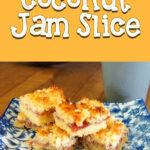 Coconut Jam Slice | Stay at Home Mum.com.au