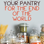 What to Stock in Your Pantry for the End of the World | Stay at Home Mum.com.au