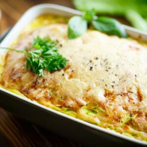 Tuna and Zucchini Slice
