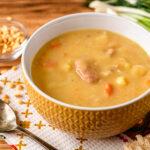 bigstock Split Pea Soup With Meat Pota 179813920 | Stay at Home Mum.com.au