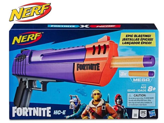 Nerf Fortnite HC-E Mega Dart Blaster Toy   Stay at Home Mum