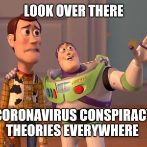 Conspiracy Theories that Covid is Planned and 5G Is To Blame