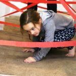 diy hallway laser maze fun indoor activity kids rainy day easy 5 1   Stay at Home Mum.com.au