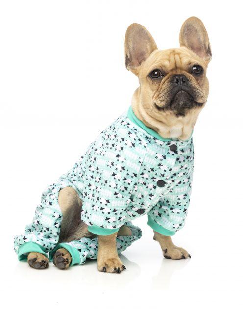 Pet House Fuzz Yard Dog Pyjamas Counting Sheep Green | Stay at Home Mum