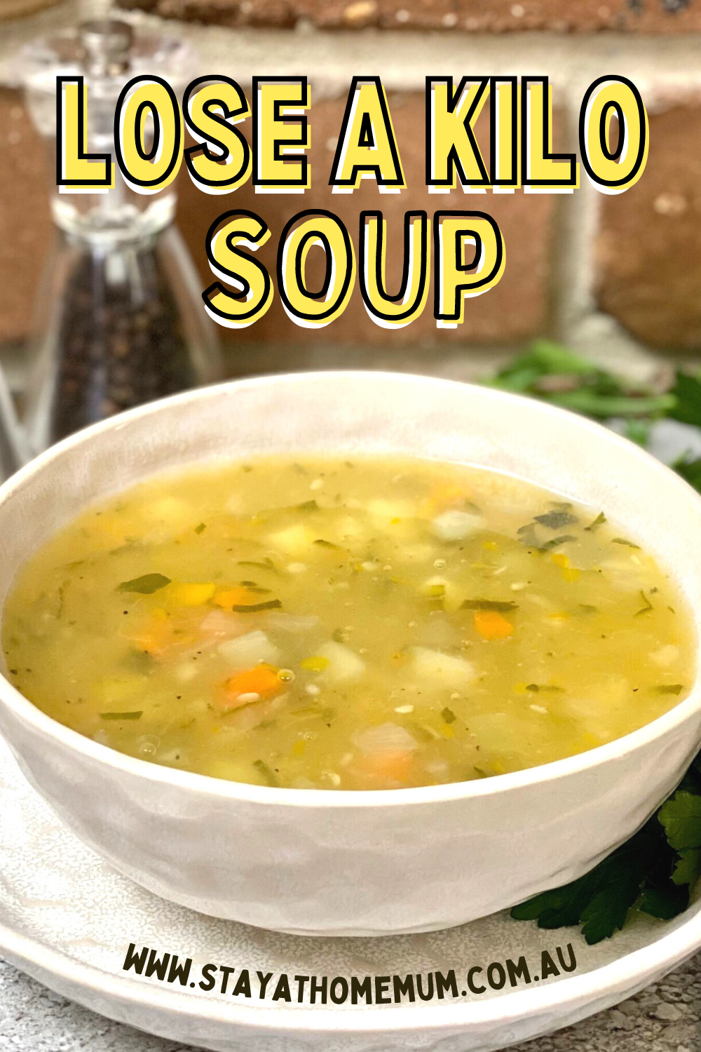 Lose a Kilo Soup | Stay at Home Mum